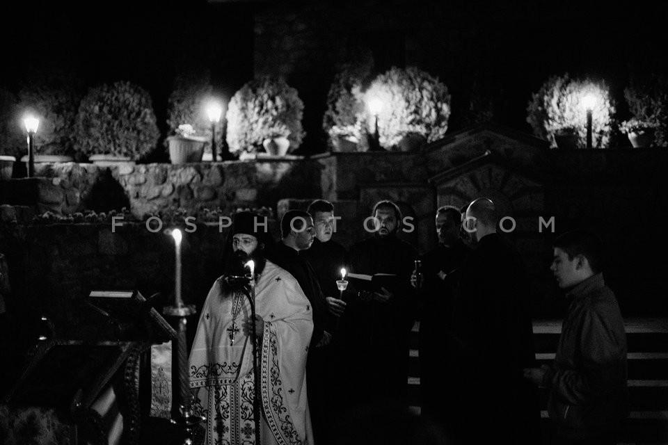 Orthodox Easter at Meteora