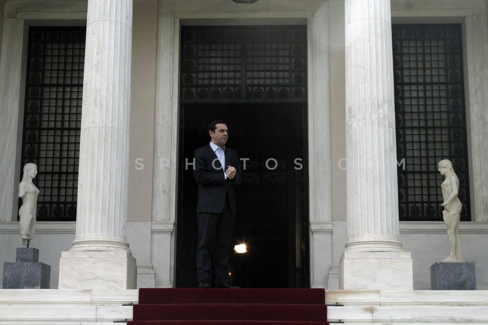 Alexis Tsipras - Donald Tusk / ΑλέξηςΤσίπρας - Ντόναλντ Τουσκ