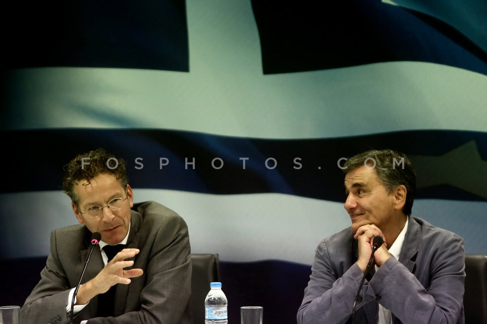 Eurogroup chief Jeroen Dijsselbloem in Athens / Επίσκεψη του Γερούν Ντάισελμπλουμ στην Αθήνα