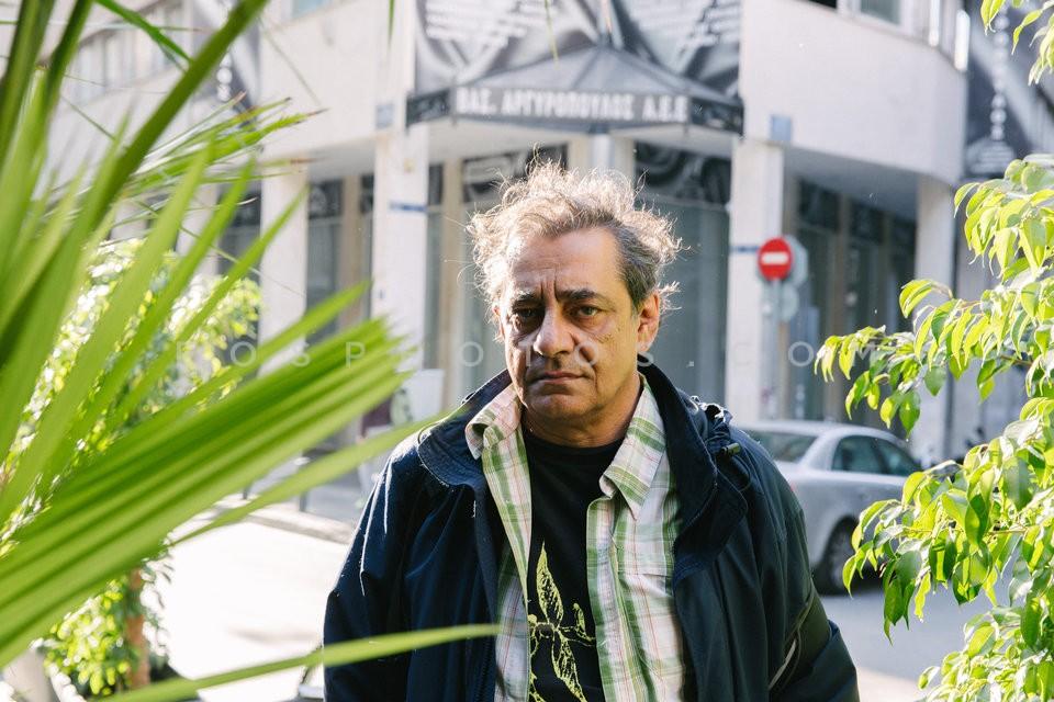 Actor Antonis Kafetzopoulos / Ο ηθοποιός Αντώνης Καφετζόπουλος