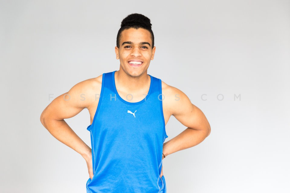 Sprinter Mohammed Abdu / Ο σπριντερ Μοχαμεντ Αμπντου