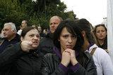 Demonstration of the mayors and employees in municipalities against layoffs in public sector in central Athens / Πορεία των εργαζομένων στην τοπική αυτοδιοίκηση με τους δημάρχους τους και κατασκήνωση με σκηνές στο Υπουργείο Εσωτερικών στην Αθήνα