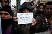 SyrianRefugeesinSyntagma2014