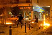Anti Fascist march marking the fourth anniversary of Greek musician Pavlos Fyssas death in Athens, on September 16, 2017. /  Συγκέντρωση και πορεία απο το Σύνταγμα στα γραφεία της Χρυσής Αυγής με αφορμή τα τέσσερα χρόνια από τη δολοφονία του Παύλου Φύσσα. Αθήνα 16 Σεπτεμβρίου 2017