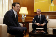 Greek PM Alexis Tsipras received Bruno Le Maire, French Minister of Economy at Maximos mansion, in Athens on June 12, 2017 / Συνάντηση του Αλέξη Τσίπρα με τον Γάλλο υπουργό Οικονομικών, Μπρούνο Λε Μερ στο Μαξίμου την Δευτέρα 12 Ιουνίου 2017