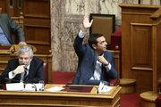 Debate and vote at the Greek Parliament of the Gender Identity Bill, in Athens, on October 10, 2017 / Ο Αλέξης Τσίπρας ψηφίζει.  Συζήτηση και ψήφιση στην Βουλή του νομοσχεδίου για τη νομική αναγνώριση της ταυτότητας φύλου, την Τρίτη 10 Οκτωβρίου 2017.