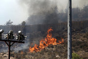 Fire in Kesariani south suburb of Athens on August 10, 2017 /  Πυρκαγιά στην Καισαριανή, Πέμπτη 10 Αυγούστου 2017