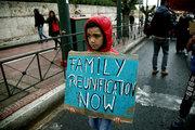 Syrian refugees protest at the German embassy in Athens on November 8, 2017 / Πορεία διαμαρτυρίας προσφύγων στην Γερμανική πρεσβεία στην Αθήνα την Τετάρτη 8 Νοεμβρίου 2017