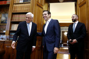 PM Alexis Tsipras briefes President Prokopis Pavlopoulos about the Thursday's decision of the Eurogroup, in Athens on June 16, 2017 / Συνάντηση του πρωθυπουργού με τον Πρόεδρο της Δημοκρατίας μετά την ολοκλήρωση της β' αξιολόγησης, Αθήνα Παρασκευή 16 Ιουνίου 2017