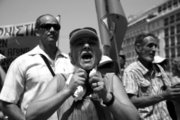 Workers in municipalities protest in central Athens on Thursday, June 29, 2017 /  Πανελλαδική απεργία της ΠΟΕ-ΟΤΑ και πορεία διαμαρτυρίας προς τη Βουλή και το μέγαρο Μαξίμου.