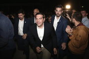 Prime Minister Alexis Tsipras at an event organized by the National Liberation Front (EAM) in Kesariani suburb of Athens, on October 2, 2016 / Ο Αλέξης Τσίπρας στην εκδήλωση για την απόδοση του Σκοπευτηρίου Καισαριανής στον Δήμο. Κυριακή 2 Οκτωβρίου 2016