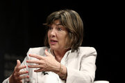 Christiane Amanpour, chief international correspondent, CNN at the panel during a session in the context of the fourth annual Athens Democracy Forum, at the Athens Concert hall, Megaron, on September 15, 2016.   / 4ο ετήσιο «Athens Democracy Forum» στο Μέγαρο Μουσικής την Πέμπτη 15 Σεπτεμβρίου 2016