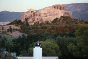 French President Emmanuel Macron at the hill of Pnyx in Athens on September 7, 2017 / Ομιλία του Γάλλου Προέδρου στον λόφο της Πνύκας, Αθήνα 7 Σεπτεμβρίου 2017