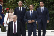 Reception at the presidential mansion in Athenon July 24, 2017 to celebrate the anniversary of the restoration of democracy in Greece after seven years of military dictatorship on July 24 1974. /  Δεξίωση στό προεδρικό μέγαρο για την 43 επέτειο αποκατάστασης της Δημοκρατίας, Δευτέρα  24 Ιουλίου 2017