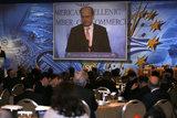 "23rd Annual Conference of the American - Hellenic Chamber of Commerce, in Athens /  23ο Ετήσιο συνέδριο του Ελληνοαμερικανικού Επιμελητήριου με τίτλο ""Η Μεταρρύθμιση του κράτους θεμέλιος λίθος για την ανάπτυξη"""