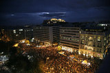 Tens of thousands gathered in Athens' Syntagma Square to protest against the new austerity measures / Διαμαρτυρία ΓΣΕΕ-ΑΔΕΔΥ στο Σύνταγμα