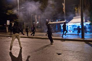 Riots in Exarchia Athens Downtown / Επεισόδια στα εξάρχεια μετά την αντικυβερνητική πορεία που πραγματοποίησαν πρωτοβουλίες του αντιεξουσιαστικού χωρου