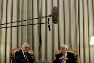 German Foreign Minister Frank-Walter Steinmeier in Athens / Ο Γερμανός Υπ. Εξωτερικών στην Αθήνα