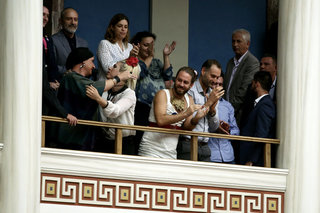Vote at the Greek Parliament of the Gender Identity Bill