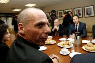 Yanis Varoufakis - Jeroen Dijselbloem / Γιάνης Βαρουφάκης - Γερόουν Ντάισελμπλούμ