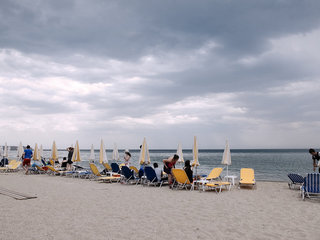 Bad weather during summer in Northern Greece