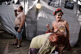 World naked bike ride 2014 in Thessaloniki