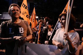 Public servants demonstration in Thessaloniki