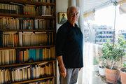 Christos Yiannaras, philosopher, professor and newspaper columnist, Athens, Greece, November 2013 / Χρήστος Γιανναράς, φιλόσοφος, καθηγητής πανεπιστημίου και αρθρογράφος, Αθήνα, Νοέμβριος 2013