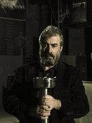 Nikos Triantafyllidis, film director and owner of the concert venue Gagarin 205, Athens, Greece, November 2014 / Νίκος Τριανταφυλλίδης, σκηνοθέτης και ιδιοκτήτης του συναυλιακού χώρου Gagarin 205, Αθήνα, Νοέμβριος 2014
