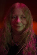 Lena Platonos, Greek female musician, Athens, Greece, April 2016 / Λένα Πλάτωνος, μουσικός, Αθήνα, Απρίλιος 2016