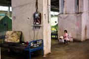 Refugee accommodation center in Oreokastro suburb of Thessaloniki, Macedonia region, Northern Greece, October 2016 / Κέντρο φιλοξενίας προσφύγων και μεταναστών στην περιοχή Ωραιόκαστρο Θεσσαλονίκης, Ελλάδα, Οκτώβριος 2016