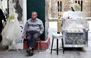 Street vendor, Athens, Greece, 2013 / Πλανόδιος μικροπωλητής, Αθήνα, 2013