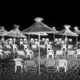 Beach at night, Herakleion, Greece, Crete / Νύχτα σε παραλία στο Ηράκλειο στην Κρήτη