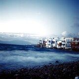 Little Venice in Mykonos, Greece, April 2001 / Η μικρή Βενετία στην Μύκονο, Απρίλιος 2001
