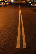 Empty street in a suburb of Athens, Greece, 2016 / Αδειος δρόμος σε προάστιο της Αθήνας, 2016
