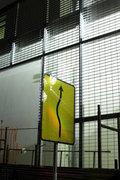 Signalling for a compulsory bypass, Athens, Greece, 2016 / Σηματοδότηση για υποχρεωτική παράκαμψη λόγω έργων, Αθήνα, 2016