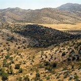 Mountains around the Nida Plateau at the foot of Psiloritis mountain, Crete, Greece, August 2011 / Τα βουνά γύρω από το οροπέδιο της Νίδας στους πρόποδες του Ψηλορείτη, Κρήτη, Αύγουστος 2011