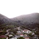 The village Neohori in the Erissos area, laying at the side of Mount Kalo, Kefalonia island, Greece, August 2011 / Το χωριό Νεοχώρι Ερίσσου στην πλαγιά του Καλού όρους, Κεφαλονιά, Αύγουστος 2011