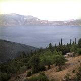 The view to Ithaca island from Neohori of Erissos, Kefalonia island, Greece, August 2011 / Η θέα της Ιθάκης από το χωριό Νεοχώρι Ερίσσου, Κεφαλονιά, Αύγουστος 2011