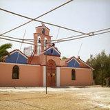 Monastery of Virgin Mary in Erissos, Kefalonia Island, Greece, August 2011 / Η Ιερά Μονή Θεοτόκου Παλαιοχέρσου, Έρισσος, Κεφαλονιά, Αύγουστος 2011