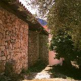 Monastery in Erissos, Kefalonia Island, Greece, August 2011 / Η Ιερά Μονή Θεοτόκου Παλαιοχέρσου, Έρισσος, Κεφαλονιά, Αύγουστος 2011