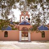 Monastery of the Virgin Mary (Palaiohersou) in Erissos, Kefalonia Island, Greece, August 2011 / Η Ιερά Μονή Θεοτόκου Παλαιοχέρσου, Έρισσος, Κεφαλονιά, Αύγουστος 2011