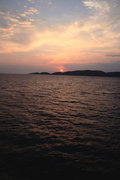 Sunset in Ionian Sea, Greece, August 2013 / Ηλιοβασίλεμα στο Ιόνιο, Αύγουστος 2013