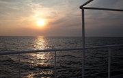 Sunset in Ionian Sea, Greece, 2013 / Ηλιοβασίλεμα στο Ιόνιο, Αύγουστος 2013