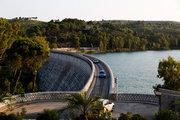 The Marathon dam and the artificial lake created there, Attica, Greece, July 2016 / Το φράγμα Μαραθώνα και η τεχνητή λίμνη που έχει δημιουργηθεί, Αττική, Ιούλιος 2016