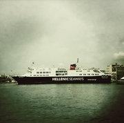 Ship in the port of Piraeus, Greece, April 2012 / Πλοίο στο λιμάνι του Πειραιά, Απρίλιος 2012