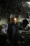 A car mechanic in the area of Neos Kosmos in Athens / Μηχανικός αυτοκινήτων στο συνεργείο του στον Νέο Κόσμο