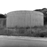 Rainwater tank made of cement, Erisos, ionian island of Kefalonia, Greece, August 2012 /  Τσιμεντένια δεξαμενή συλλογής βρόχινου νερού, Έρισος, Κεφαλονιά, Αύγουστος 2012