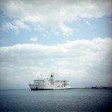 Boat at the port of Gytheio in Peloponnese, Greece 2006 / Καράβι στο λιμάνι του Γυθείου, Μάνη 2006