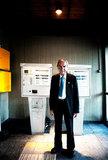 Controller tickets at electric railway station, Athens, 2010 / Ελεγκτής εισιτηρίων σε σταθμό του ηλεκτρικού σιδηροδρόμου, Αθήνα, 2010